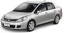 Чехлы на Nissan Tiida (Эмиратка) 2004-2006 гг.