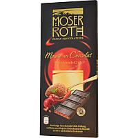 Шоколад Moser Roth (черный с вишней-чили) 187,5 г