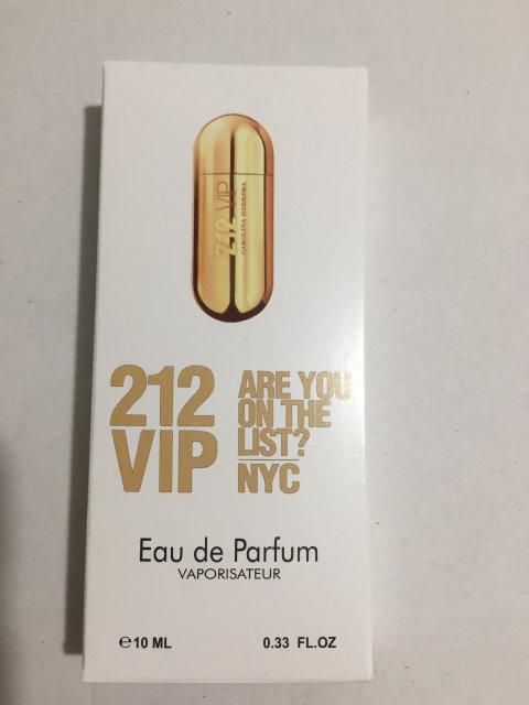 Женский мини парфюм 10 ml Carolina Herrera 212 Vip