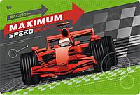 """Подложка пластиковая """"Maximum speed"""" PP 1 Вересня"""