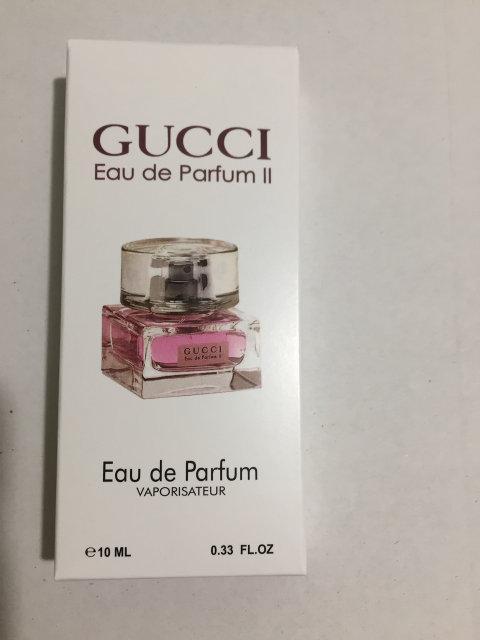 Женский мини парфюм 10 ml Gucci Eau De Parfum II
