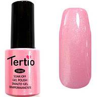 Гель-лак Tertio 050 Розовый / микроблестки, 10 мл.
