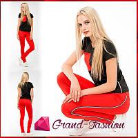 Спортивный костюм ~Camara~ Красный с чёрным, фото 1
