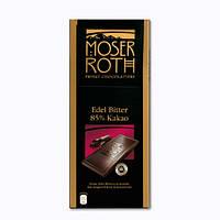 Шоколад Moser Roth (черный с какао) 125 г