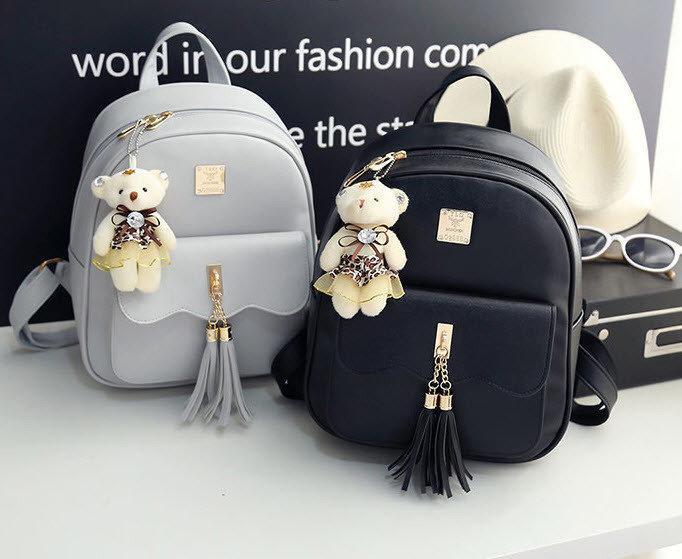 62a95695fc7d Городской рюкзак для модных девушек с кисточками: продажа, цена в ...