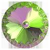 Риволи Preciosa (Чехия) 18 мм Crystal Vitrail Medium