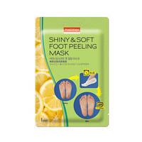 Педикюрные носочки Purederm Shine&Soft foot peeling mask