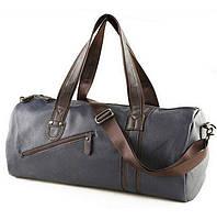Спортивная дорожная сумка. Синяя