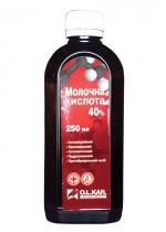 Кислота молочная 40% 250 мл O.L.KAR.