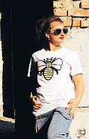 Женская футболка с пчелой, размер универсальный