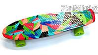 Пенни борд скейтбоард (56 см) рисунок