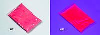 Краска Холи УФ Неон органическая Розовая, пакет 100 грамм
