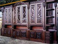 Шкафы резные, деревянные. Фрезеровка на станках с ЧПУ под заказ
