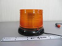 Проблесковый маячок LED 23  желтый , светодиодный на магните ,   стробоскопический., фото 1