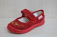 Тапочки в садик на девочку и мальчика оптом текстильная обувь Vitaliya Виталия Украина, размеры с 23 по 27