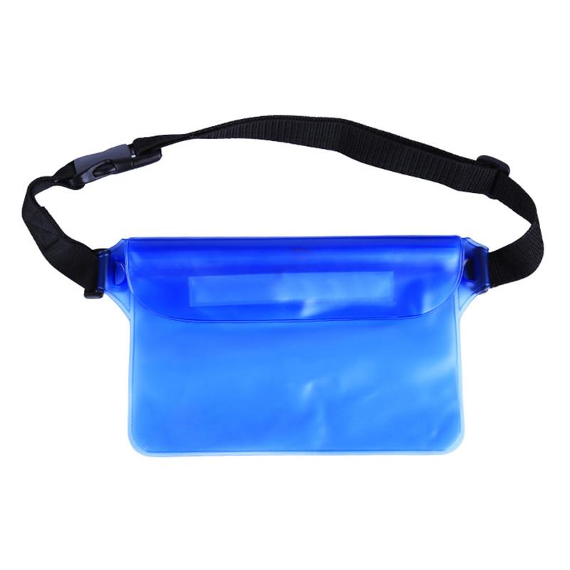 Универсальная водонепроницаемая сумка голубая