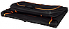 Складная палатка - переноска 84х54х55см, c расширением  для собак и кошек, черная/оранжевая, фото 5