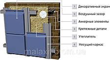 Фасадна касета з алюмінієвого монолиста, фото 2