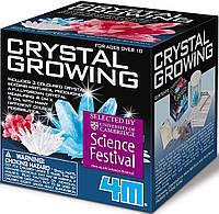 """Набор """"Кристаллы"""" Выращиваем 3 кристалла, 4М Crystal Growing Kit Оригинал из США"""