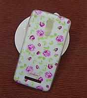 Силиконовый чехол Diamond для Lenovo A5000 Cath Kidston Wedding Flowers