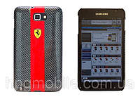 Чехол для Samsung Galaxy Note i9220 N7000 - Ferrari Carbon