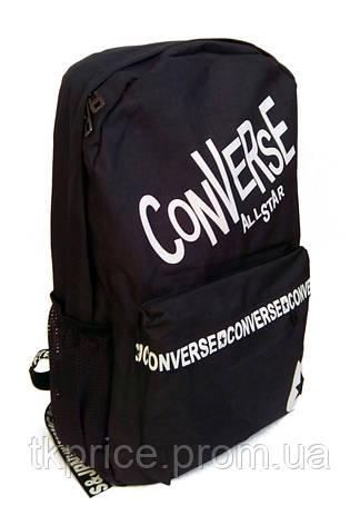 Универсальный рюкзак для школы и прогулок Converse черный, фото 2