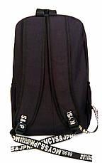Универсальный рюкзак для школы и прогулок Converse черный, фото 3