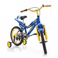 Детский двухколесный велосипед Азимут KSR Premium 16 дюймов