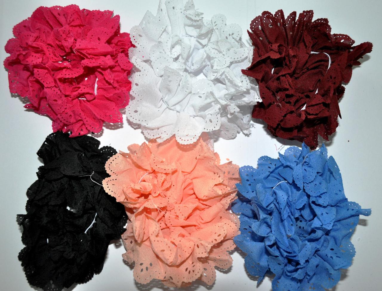Кружевные Резинки для волос (12 шт)