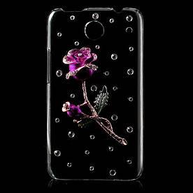 """Чохол на Lenovo IdeaPhone S880 ручної роботи """"Троянда"""""""
