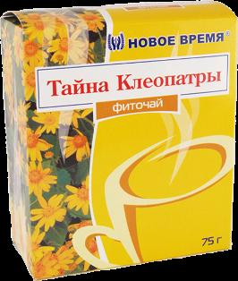 """Травяной чай от изжоги, для печени, желудка, при панкреатите, гастрите """"Тайна Клеопатры"""" Новое время, сбор 75г"""