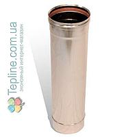Прайс-лист «Версия-Люкс» Труба для дымохода из нержавеющей стали AISI 304 (одностенная)