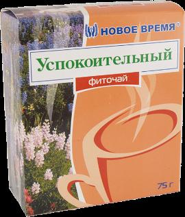 """Травяной чай успокоительный, от стресса, хронической усталости """"Успокоительный"""" Новое время, сбор 75 г"""