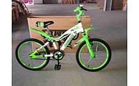 Детский двухколесный велосипед Азимут KSR Premium 20 дюймов