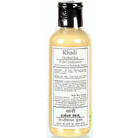Herbal Sat With Conditioner (With Extract Of Brami & Henna, Khadi / 210 ml