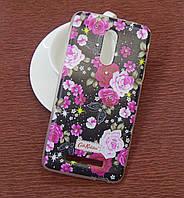Силиконовый чехол Diamond для Samsung I9500 (S4) Cath Kidston Dark Fantasy
