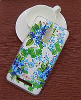 Силиконовый чехол Diamond для Samsung I9500 (S4) Cath Kidston Romantic Blue