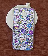Силиконовый чехол Diamond для Samsung I9500 (S4) Cath Kidston Lovely Dreams
