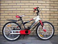 """Детский двухколесный велосипед Azimut 20"""" Stitch Premium"""