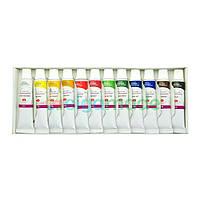 Набор акриловых красок Сонет, 12 цветов, 10 мл