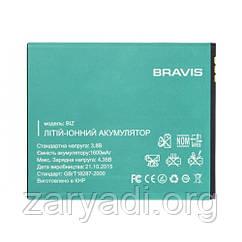 Аккумулятор Bravis Biz, 1600 mAh Original /АКБ/Батарея/Батарейка/Бравис
