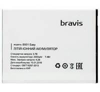 Аккумулятор Bravis Easy, 2000 mAh Original /АКБ/Батарея/Батарейка/Бравис