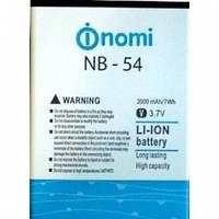Аккумулятор Nomi NB-54 (i504) 2000 mAh Original /АКБ/Батарея/Батарейка/Номи
