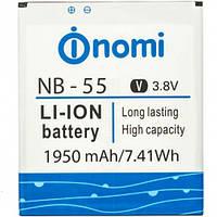 Аккумулятор Nomi NB-55 (i505) 1950 mAh Original /АКБ/Батарея/Батарейка/Номи