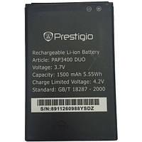 Аккумулятор Prestigio PAP3400 DUO 1500 mAh Original /АКБ/Батарея/Батарейка/Престиж/Престижио/Престиджио