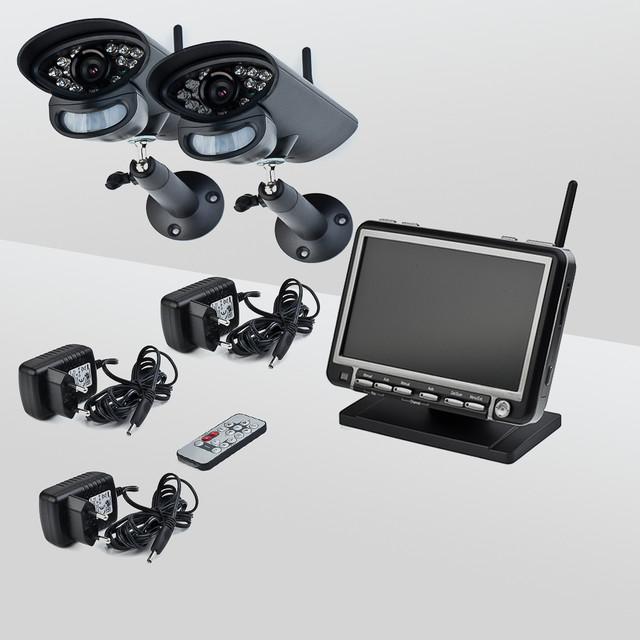 Беспроводные комплекты видеонаблюдения