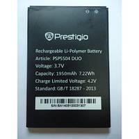 Аккумулятор Prestigio PAP5504 DUO 1950 mAh Original /АКБ/Батарея/Батарейка/Престиж/Престижио/Престиджио