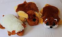 Игрушка - подушка кот, медведь, собачка, лиса