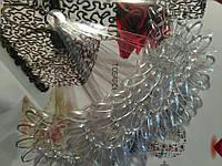 Палитра цветок (прозрачная)на кольце на 120 образцов для гель лака