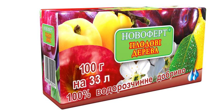 Добриво для плодових дерев 100 г, Новоферт, фото 2